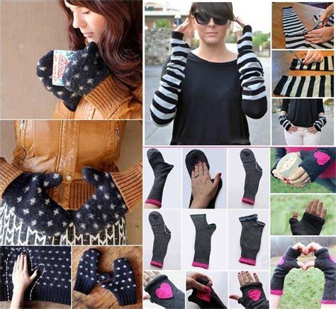 diy out of socks how to make gloves out of socks trusper