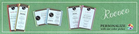 Card Lab Wedding Invitations by Rococo Wedding Stationery Wedding Stationery Wedding