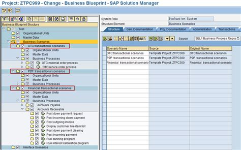 sap template management sap solution manager solman template projects dataxstream
