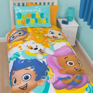 bubble guppies bed textile warehouse