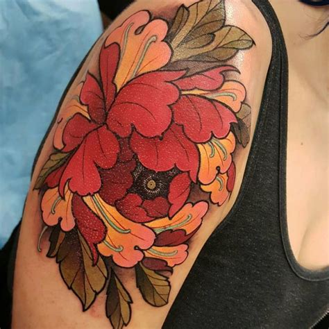 tattoo new haw best 25 japanese peony tattoo ideas on pinterest
