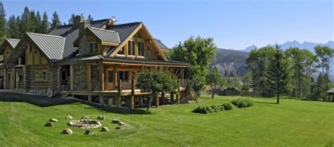 bc custom log homes builder