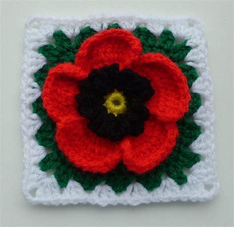 youtube poppy pattern poppy in granny square crochet pattern by luba davies