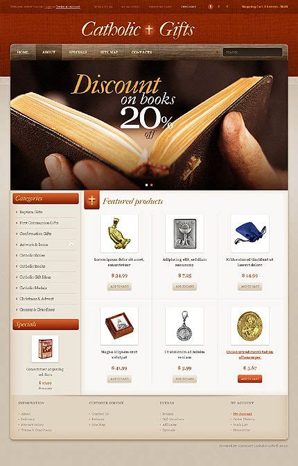 gifts websites 39 best images about church christian website templates