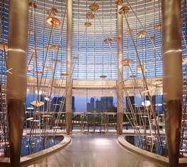 image gallery inside burj dubai