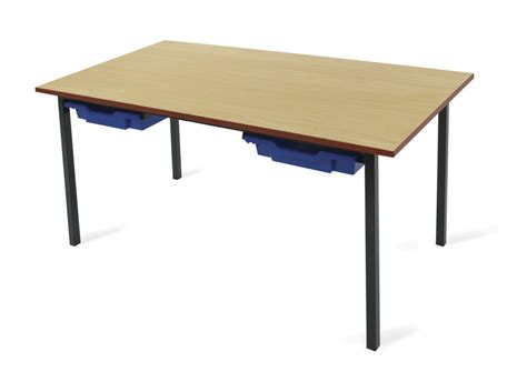 classroom tables with trays the ideal school table with