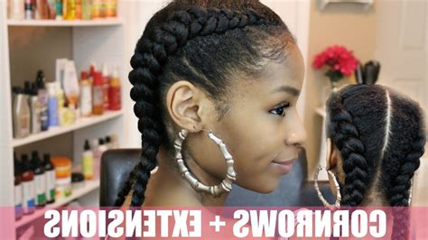 weave hairstyles 2017 braids cornrows two cornrows natural hair hairstyles 2017