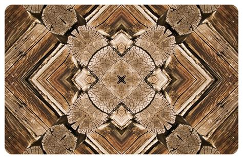 Rustic Outdoor Rugs Fo Flor 2 X3 Faux Wood Mat Rustic Outdoor Rugs By Bungalow Flooring