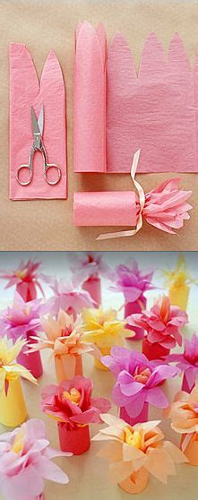 How To Make Flowers Out Of Wrapping Paper - 1000 ideas about small gifts on small gift
