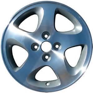 15 alloy wheel for 1999 2000 2001 2002 2003 mazda protege