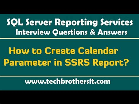 4 Questions To Make Your - ssrs questions and answers how to create