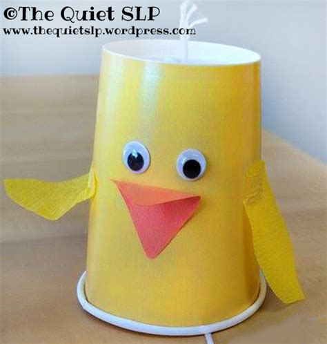 Duck Paper Craft - quacking duck craft the slp