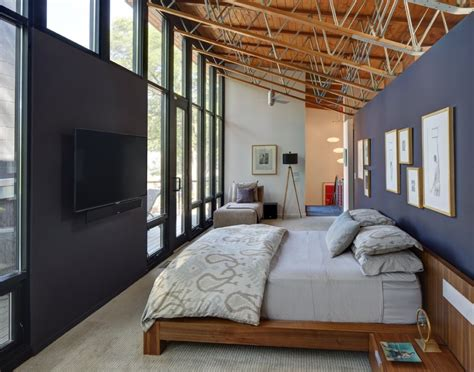 story bedroom half century rancher renovated into large modern 2 story home modern house designs