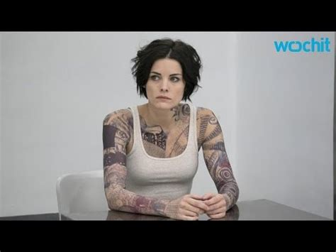 Blind Spot Tattoo Process | jaimie alexander talks about her blindspot tattoo process