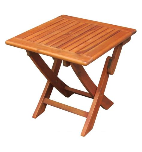 Foldable Patio Table Fold Up Wooden Outdoor Table Chairs Seating