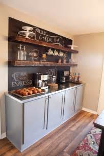 Coffee Bar Cabinet 43 Stylish Home Coffee Stations To Get Inspired Digsdigs