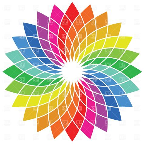 color wheel images color wheel palette vector image vector artwork of