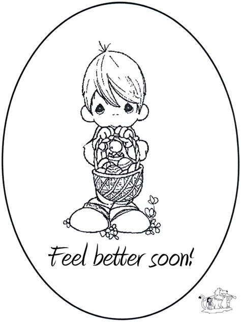 get well coloring pages get well cards coloring pages