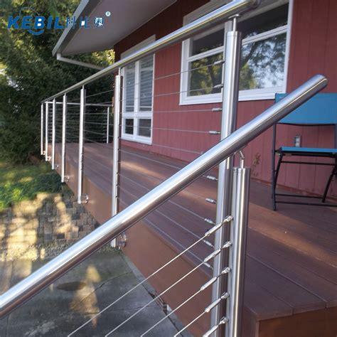 terrazzi con ringhiera morsetti per ringhiere per ringhiere in acciaio inox a