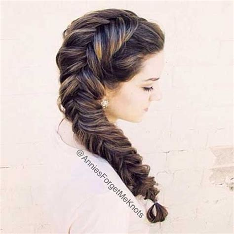 Fishtail Braid Hairstyles by 15 Fishtail Braids Hairstyles Hairstyles Haircuts 2016
