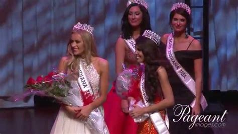 Miss Indriany the crowning of miss indiana usa and miss indiana usa