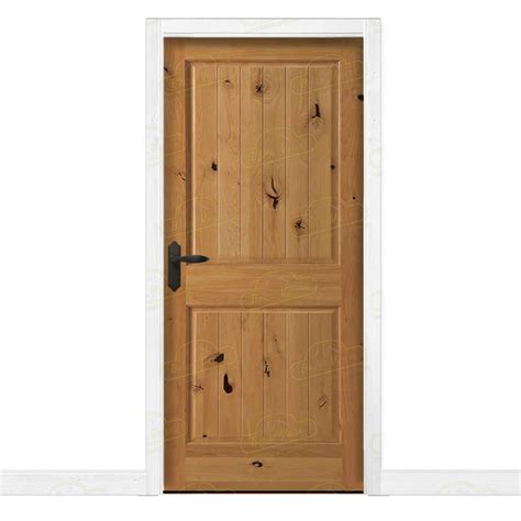 puerta interior madera puerta interior r 250 stica en madera maciza de pino