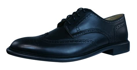 geox oxford shoes geox cuoio u guildford c mens leather oxford shoes black