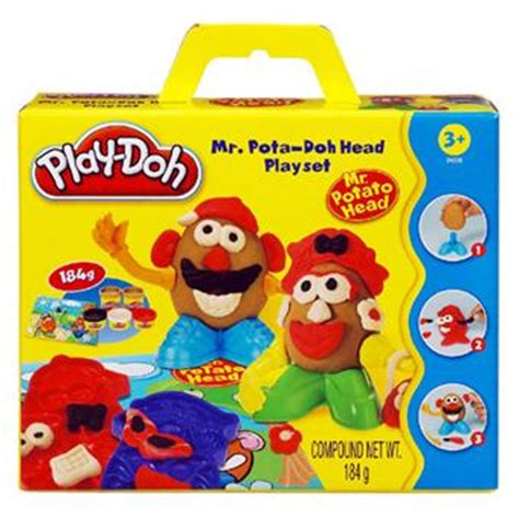 hasbro play doh mr et mrs potato p 195 162 te 195 modeler pour