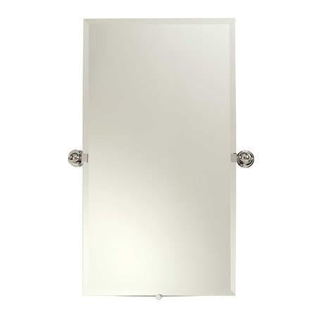 ginger bathroom mirrors city 212 20 quot x 36 quot small frameless pivoting mirror