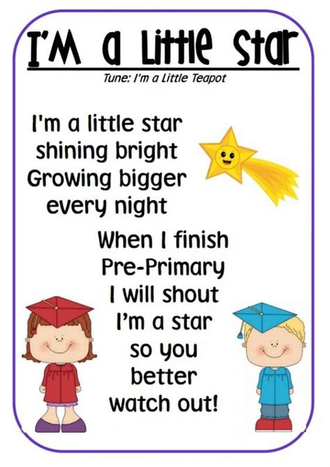 themes for kindergarten presentation cute poem for students to perform at a graduation ceremony