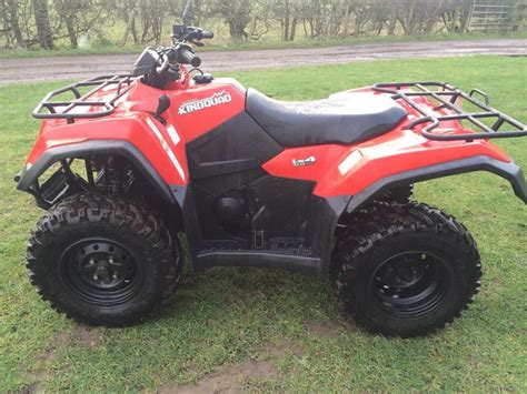 Suzuki Atv 2012 Suzuki 400 King Automatic Road Registered Atv