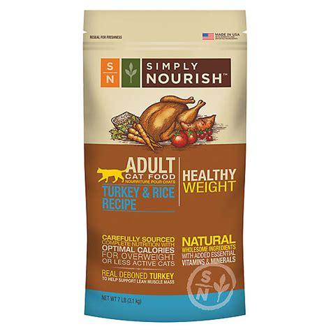 so cat food canada simply nourish healthy weight cat food cat
