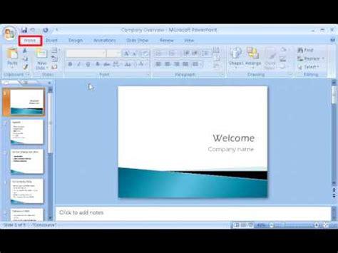 tutorial powerpoint 2007 menggunakan hyperlink microsoft powerpoint 2007 tutorial youtube