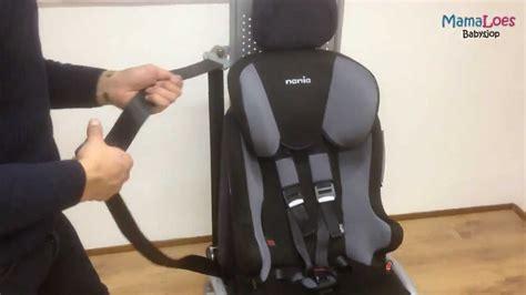 Kindersitz Auto Montage by Autostoel Monteren Nania Racer Sp Mamaloes Babysjop
