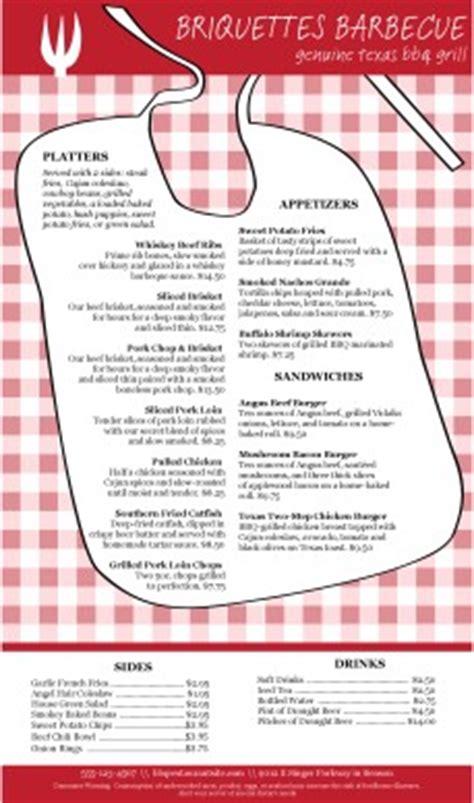 Bib Barbeque Menu Long Template Archive Barbecue Menu Template