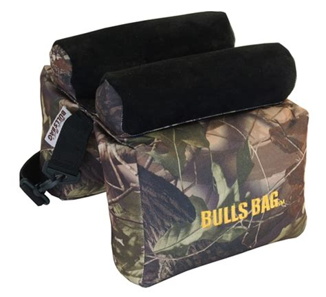 bulls bag bench rest bulls bag 10 quot ufnilled shooting rest pro series camo suede