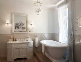 Traditional Bathroom Decorating Ideas by White Traditional Bathroom Roll Top Bath Interior Design