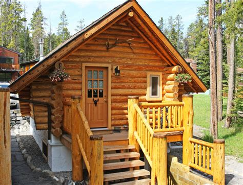 Banff Cabins With Tub by Banff Log Cabin Bed Breakfast Accommodation