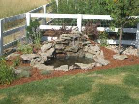 diy backyard pond ideas garden and patio small diy ponds with waterfall and