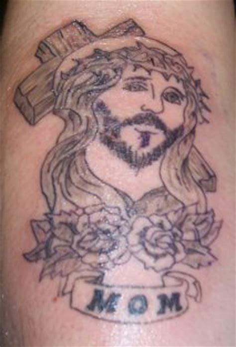 jesus tattoo gone wrong bad tattoos alrighty 10 more worst cases of horrible