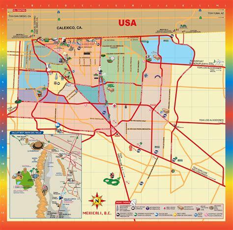 maps mexicali baja california mexicali mexico map