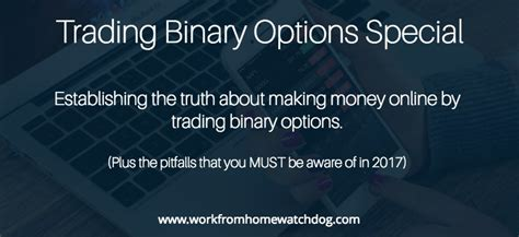 Make Money Online Binary Options - how to make money trading binary options online