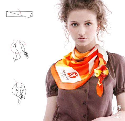 ways to wrap a scarf website for