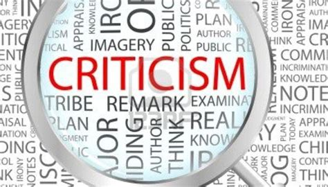 Critics Critique by I Confess I Am Not And Never Will Be A Critic My
