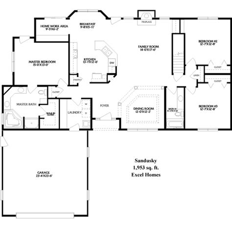 Floor Plans For Ranch Homes by Ranch House Floor Plans Galleryhip Com The Hippest