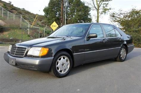 how does cars work 1994 mercedes benz s class electronic throttle control 1994 mercedes benz s class s500 in el cajon ca 1 owner car guy