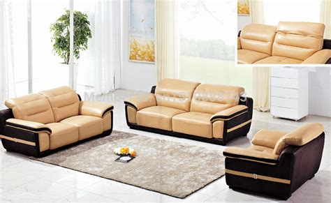 Yellow Leather Living Room Chair Lbz 3806 Yellow Leather Sectional Sofa 123 Living Room