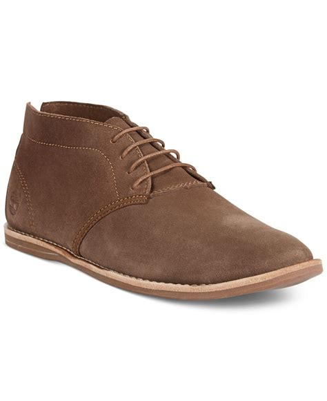 brown chukka boots timberland earthkeepers revenia chukka boots in brown for