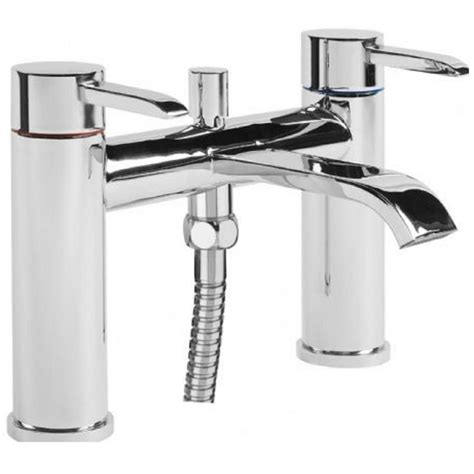 bath mixer taps with shower tavistock hype bath shower mixer tap and handset hype