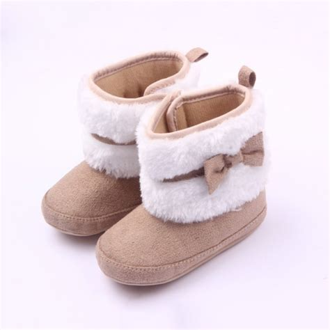 0 12 Months Lovely Toddler Booties Girls Soft Sole Baby Baby Crib Boots